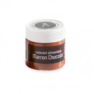 Colorant alimentaire marron chocolat (10 gr)