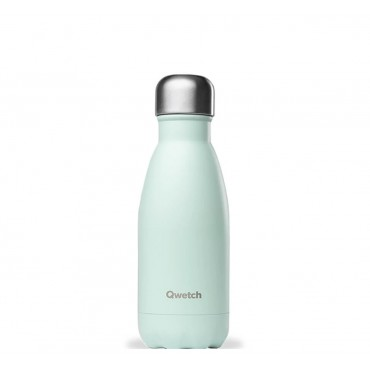 Bouteille Isotherme Pastel Vert - Qwetch
